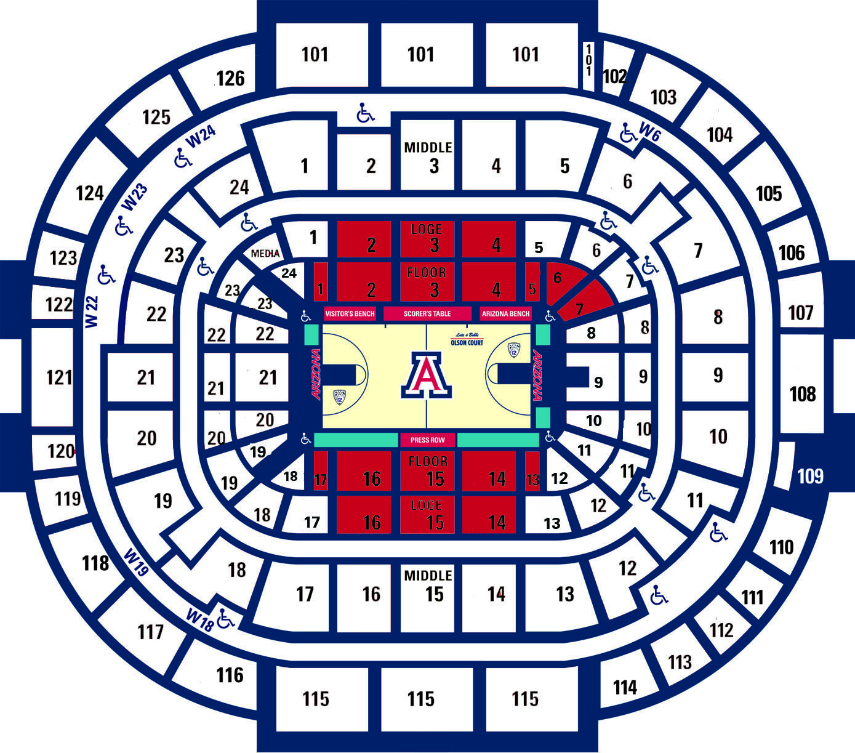 University Of Arizona Online Ticket Office Cactus